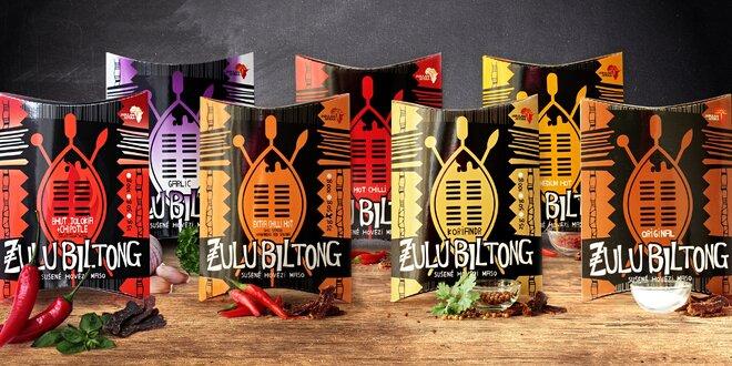 Zulu Biltong: africké pochúťky zo sušeného mäsa
