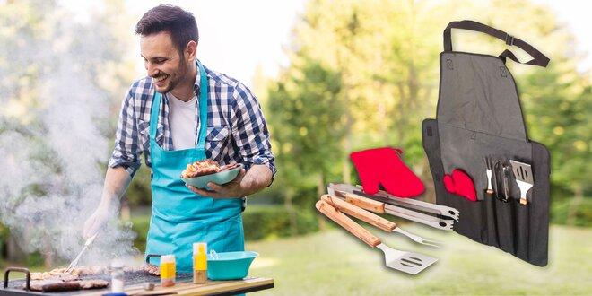 BBQ praktická sada na grilovanie