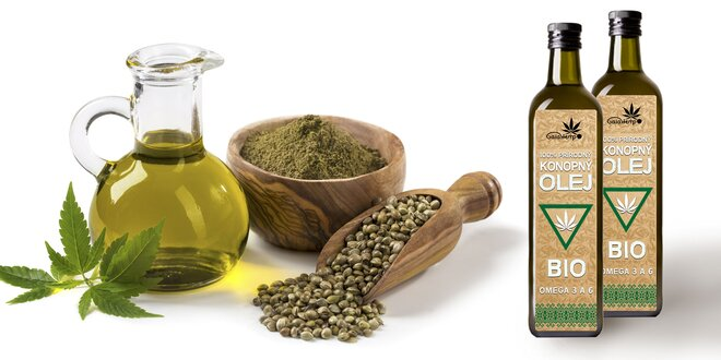 Konopný olej BIO Gaiahemp