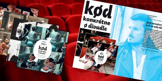 Časopis Kød - konkrétne o divadle