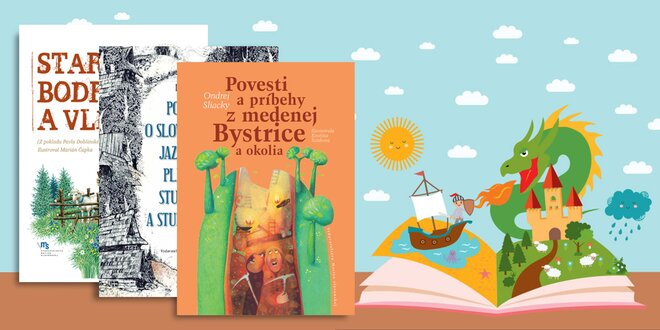 Rozprávkový knižný darček pre vaše deti aj s doručením v cene