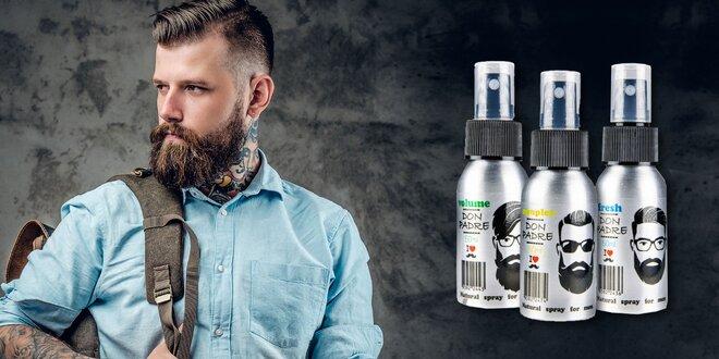 Stylingové spreje na bradu DonPadre