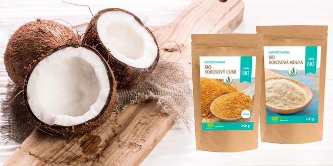 Cukor či múka z kokosu