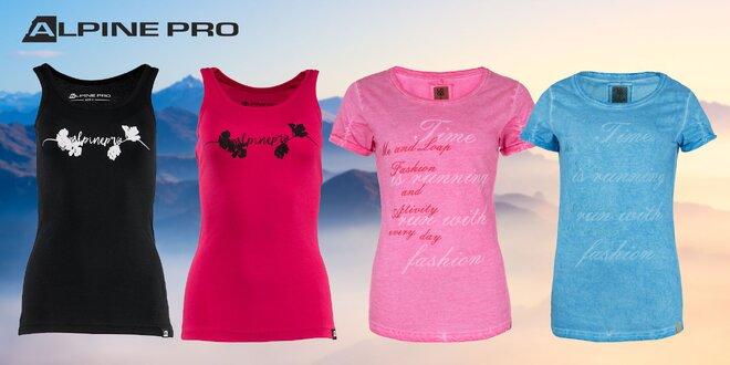 Dámske tielko Alpine Pro alebo tričko značky Loap