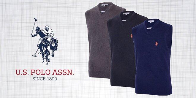 Pánske svetre bez rukávov od značky U.S. Polo Assn