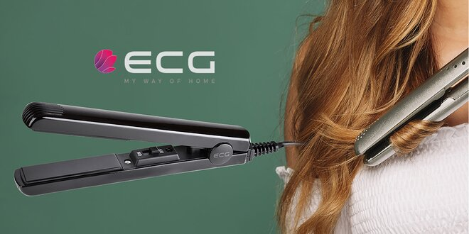 Žehlička na vlasy ECG ZV 45 mini