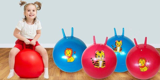Skákacie lopty pre zábavu i zdravý vývoj detí