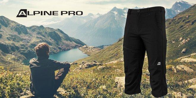 Pánske softshellové 3/4 nohavice Alpine Pro