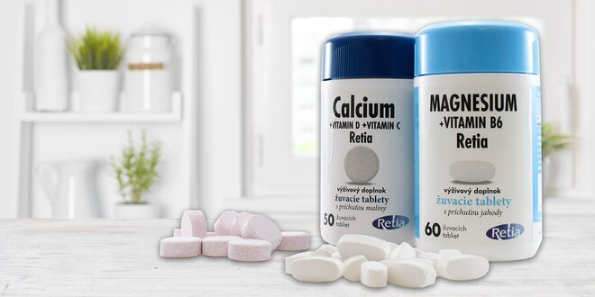 Kalcium a magnézium pre fit pocit po celý rok