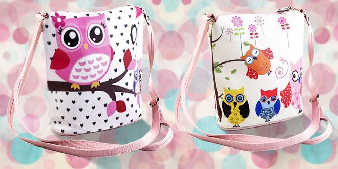 Štýlová kabelka pre malé slečny