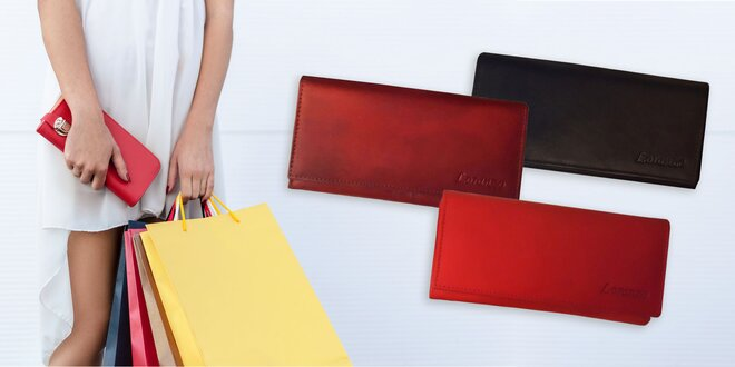 Dámske elegantné peňaženky