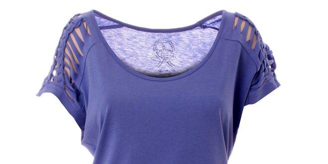 433c19436 Dámske fuchsiové tričko s vykrojenými rukávmi Lee Cooper | Zlavomat.sk