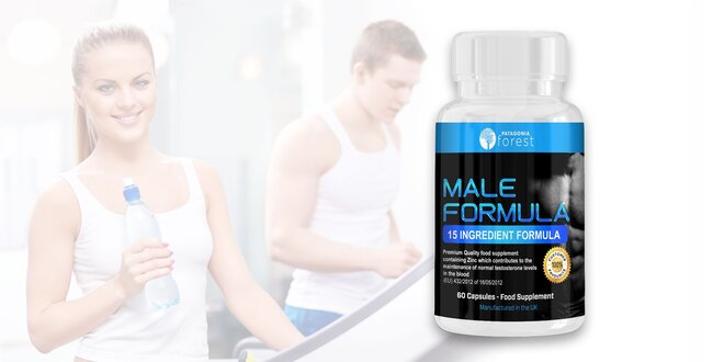 Letný testosterónový komplex Male formula
