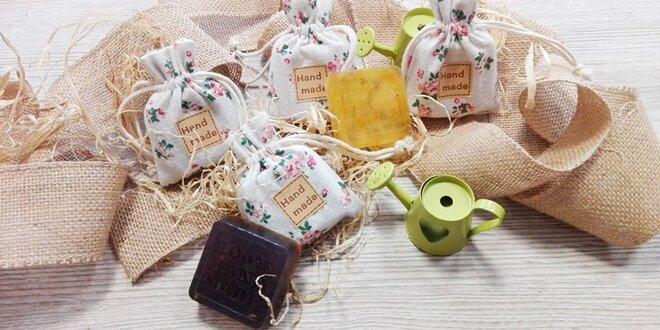 HANDMADE peelingové alebo bylinkové mydlo