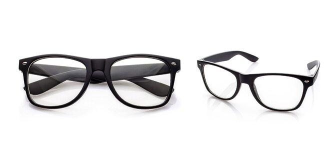 Štýlové okuliare GEEK s čírymi sklami