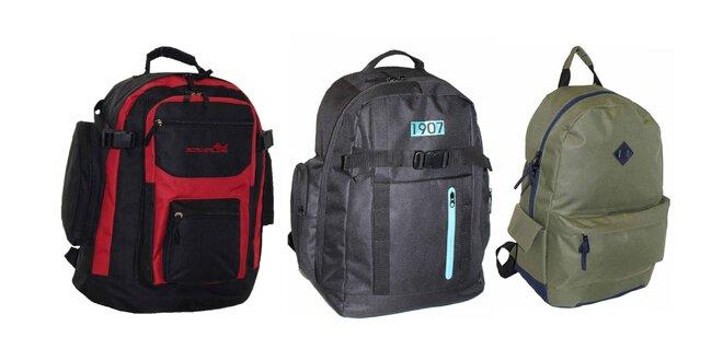 Praktické športové batohy pre dámy i pánov