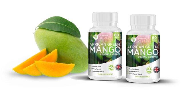 Najsilnejšie Africké Zelené Mango 60x tabliet 6000mg