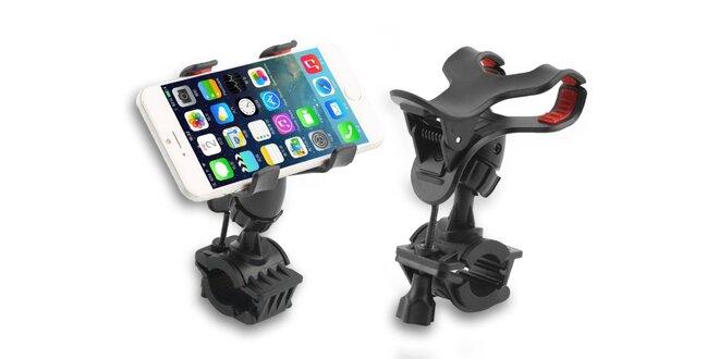Univerzálne držiaky na riadidlá pre mobily a GPS zariadenia