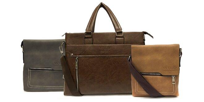 Elegantné pánske tašky Wild z eko kože na výber v niekoľkých variantoch aj…