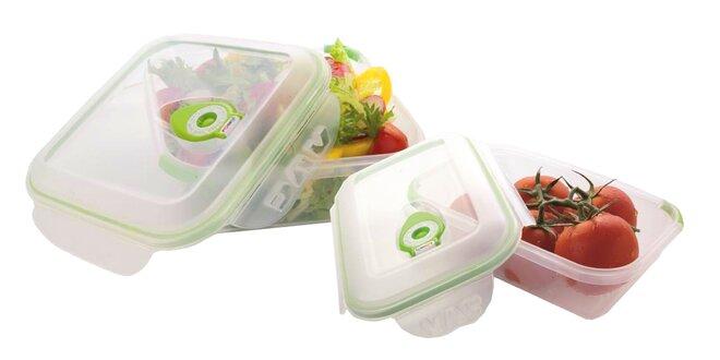 Vákuové dózy Vac Pure pre dlhšie skladovanie potravín