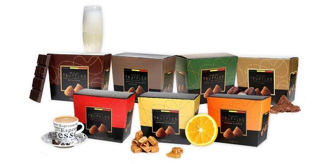 Originálne čokoládové truffles