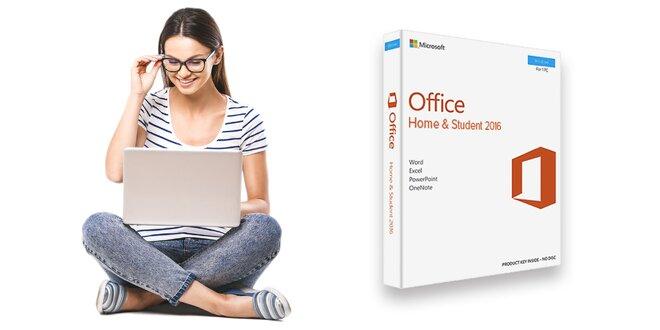 Elektronická licencia balíka MS Office 2016