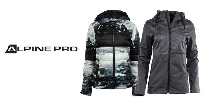 Dámske zimné či softshellové bundy Alpine Pro