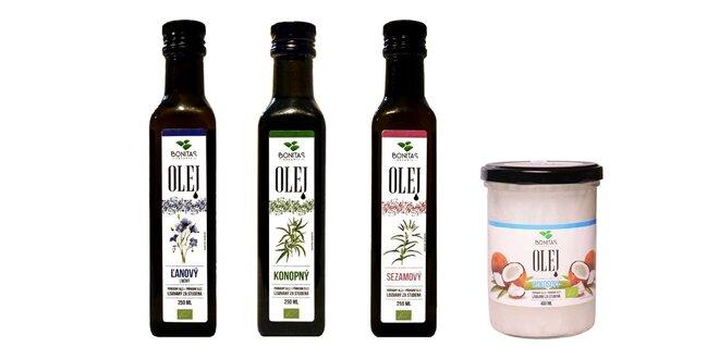 BIO panenské prírodné oleje