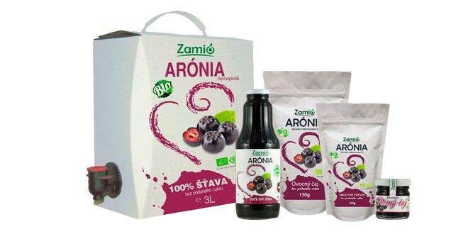 BIO produkty z arónie Zamio s liečivými účinkami