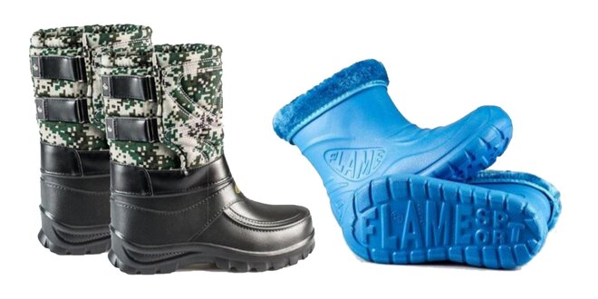 Zateplené topánky Flameshoes pre celú rodinu