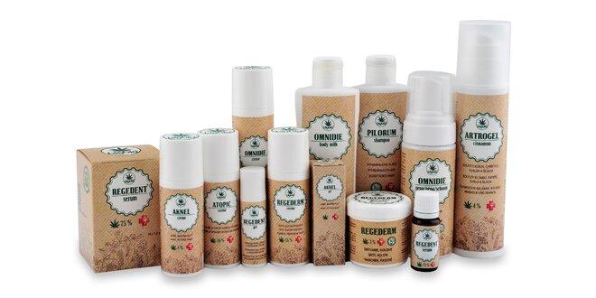 Balíčky kozmetiky: rôzne druhy pleti, vlasov!