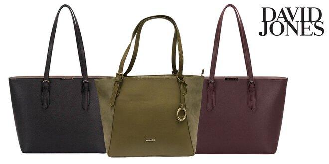Dámske kabelky David Jones: dva druhy v rôznych farbách