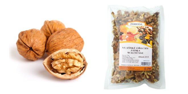 Vlašské orechy z úrody 2018