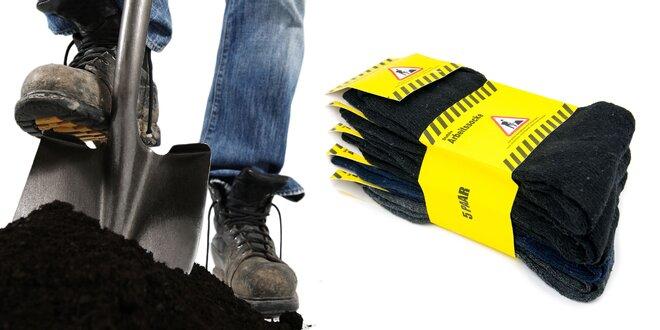 Pracovné ponožky: Zima vás od diela neodoženie