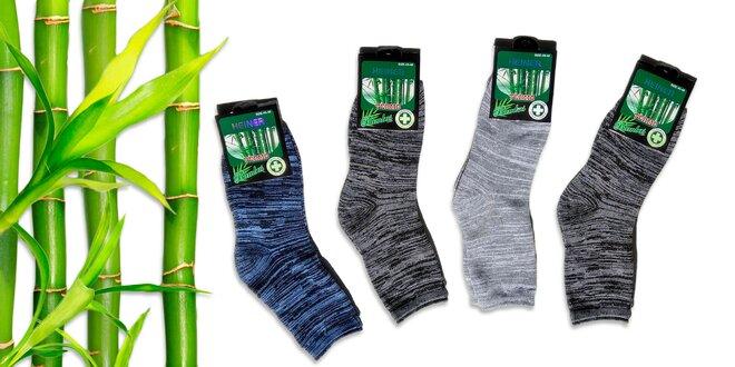 Termo bambusové ponožky  6 párov  5ce992e22f