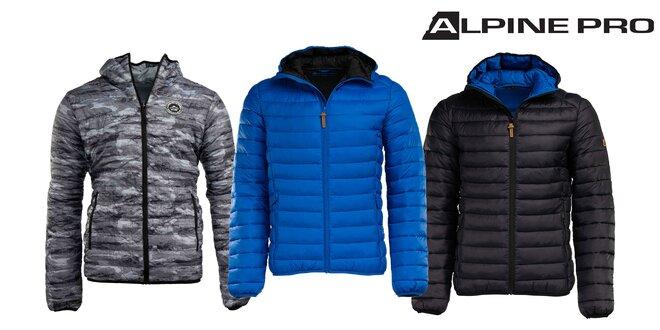 Kvalitná pánska obojstranná zimná bunda Alpin Pro