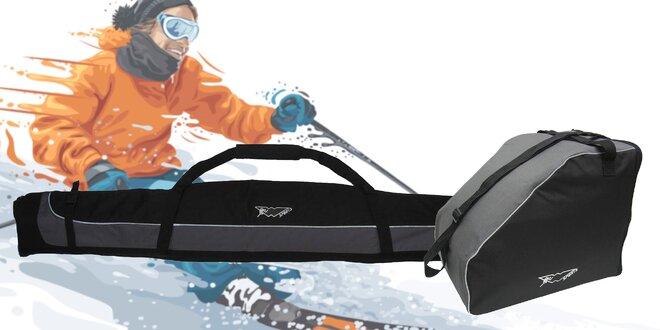 Kvalitný vak na lyže či lyžiarky  20fe366429e