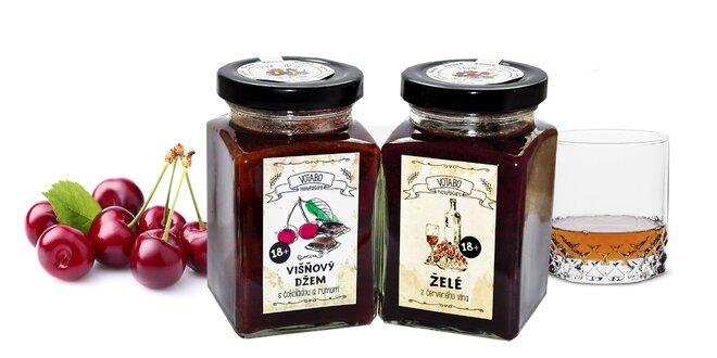 Džemy a lekváry s alkoholom od Votabo Manufaktúra