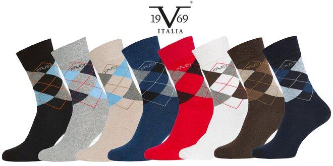 Balenie 5 párov business ponožiek Versace 19.69