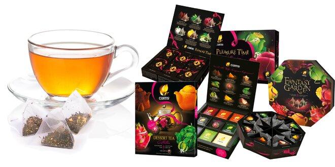Kolekcie porciovaných či pyramídových čajov