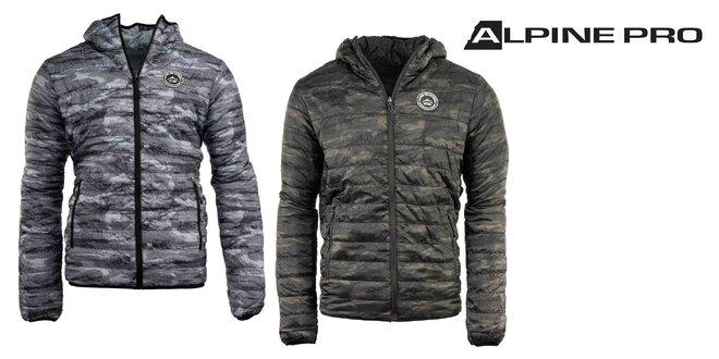 Pánska obojstranná zimná bunda Alpine Pro