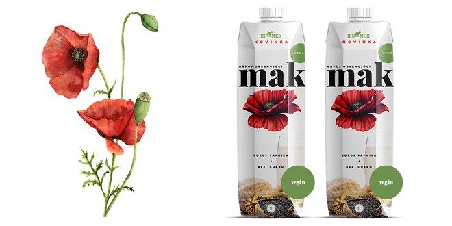 Makové mlieko - jedinečný slovenský produkt
