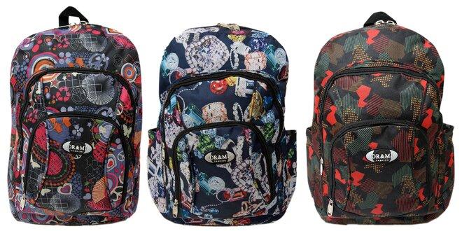32f2c4547d Farebné batohy OR   MI do školy aj na šport