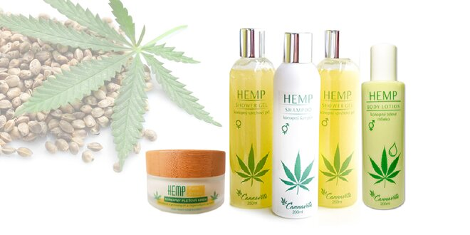 Konopná kozmetika značky HEMP