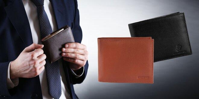 Štýlové peňaženky z pravej kože