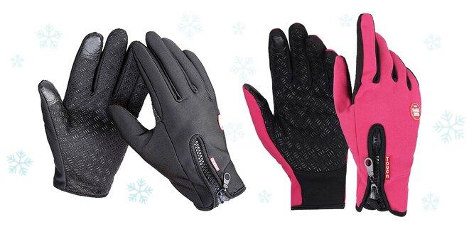 b25597dacd0 Športové rukavice s dotykovými končekmi prstov