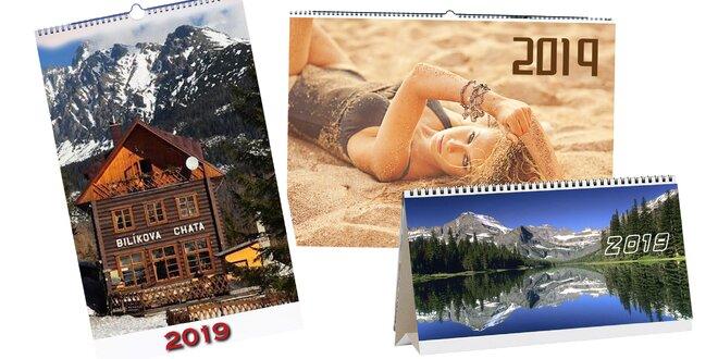 Nástenný či stolový kalendár z vlastných fotiek