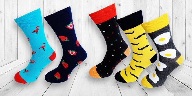 Bláznivé Crazy socks sú späť s novými vzormi!  4f4da844c5