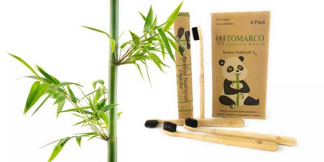 100 % EKO bambusové kefky