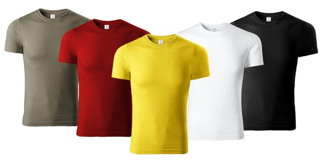 19f832fb6226b 2 ks Ľahké unisex tričká zo 100 % bavlny | Zlavomat.sk